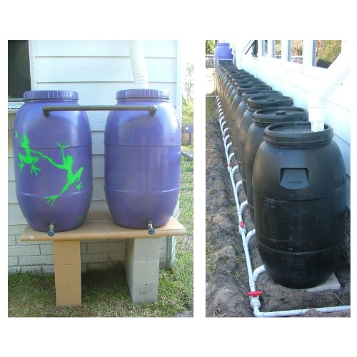 Build an Extreme Green Rain Barrel