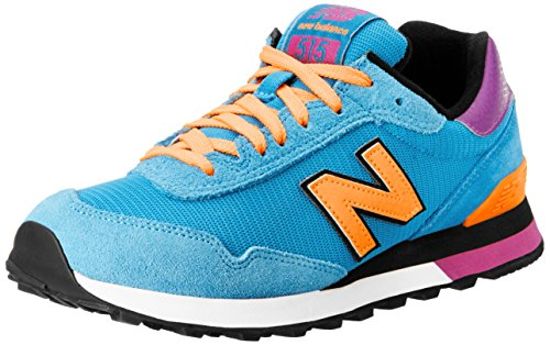 New Balance Women'S Wl515 Casual Athletic Running Shoe,Blue/Pink,8.5 B Us