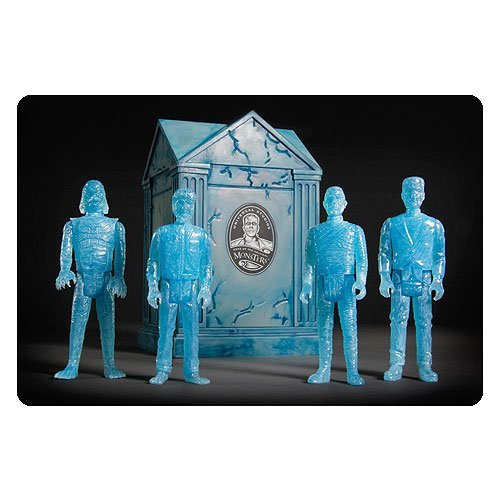 Universal Monsters ReAction Blue Glow Action Figures with Crypt - San Diego Comic-Con 2015 Exclusive by Universal Monsters