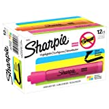 Sharpie Accent Tank-Style Highlighters, Assorted Colors, 12 Pack (25053)