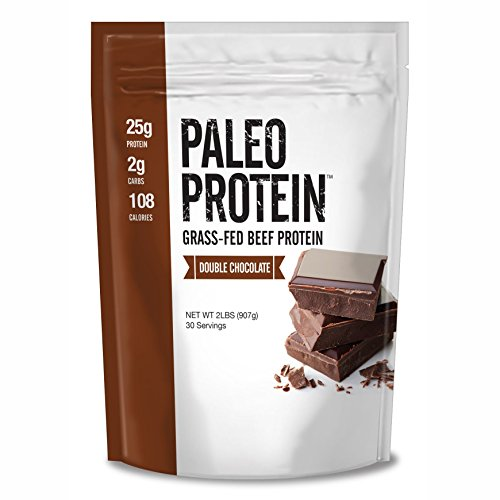Paleo Protein Double Chocolate Powder (2lbs) (2 Carbs) (30 Servings) (Grass Fed Beef) (Bakery Paleo Protein compare prices)