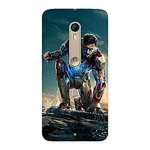 Ajay Enterprises WoPrint Style Genius Back Case Cover for Motorola Moto X Style