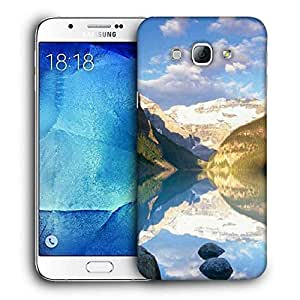 Snoogg Clean Water Image Printed Protective Phone Back Case Cover For Samsung Galaxy Note 5