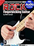 img - for Rock Fingerstyle Guitar Lessons: Teach Yourself How to Play Guitar (Free Audio Available) (Progressive) book / textbook / text book