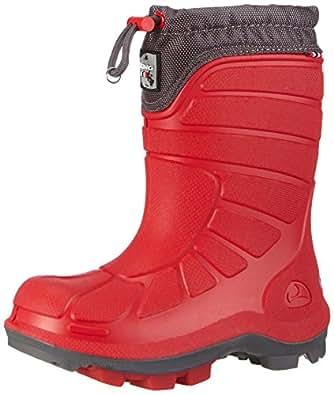 Viking EXTREME, Unisex-Kinder Ungefütterte Schneestiefel, Rot (Red/Grey 1003), 21 EU