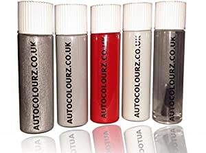 Autocolourz Car Touch Up Paint Alfa Romeo Rosso Giulietta Red Code: 185/A Brush In Lid by Autocolourz