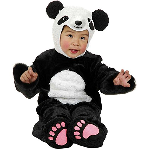 Little Panda Bear Kids Costume