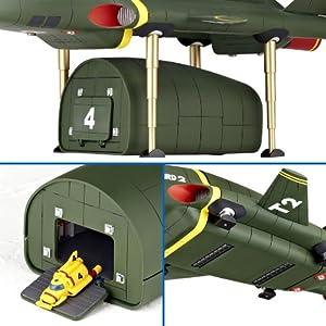特撮リボルテック044 サンダーバード サンダーバード2号 ノンスケール ABS&PVC製 塗装済み アクションフィギュア