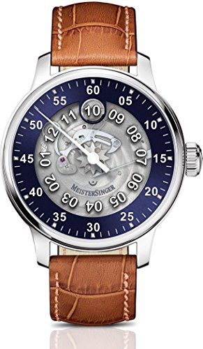 MeisterSinger Salthora Meta Transparent Reloj Automático para mujeres Diseño Clásico