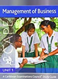 img - for Management of Business CAPE Unit 1 CXC Study Guide: A Caribbean Examinations Council (Caribbean Examinations Council Study Guide) book / textbook / text book
