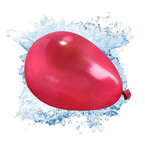 Water-Balloons-3-Bunches-Fill-and-Self-tying-in-60-Seconds-333-Total-Vibrant-Colors-Water-Balloons-with-1-Transverter