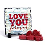 Valentine Gift with Love You! Table Top with Red Heart Candles GIFTS110231 Romantic Valentine Gift,Valentine Gift for Him,Valentine Gift for Her,Valentine Gift for Boyfriend,Valentine Gift for Girlfriend,Valentine Gift for Husband,Valentine Gift for Wife