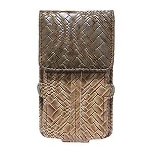 Jo Jo A6 Bali Series Leather Pouch Holster Case For Micromax Canvas Nitro 4g E455 Tan Brown