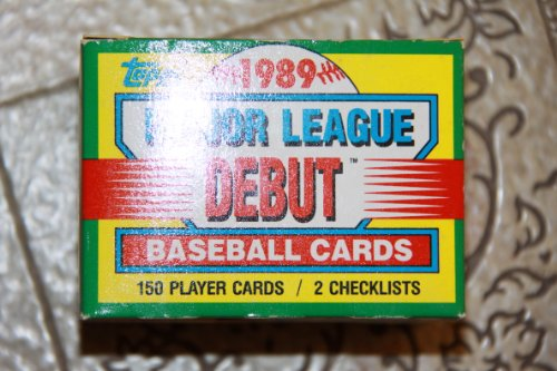 1989 Topps Major League Debut Set