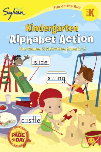 Kindergarten Alphabet Action (Sylvan Fun on the Run Series) (Fun on the Run Language Arts)