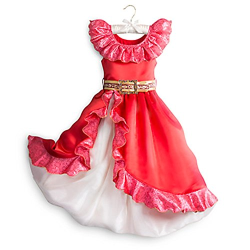Disney Store Little Girls Princess Elena Of Avalor Costume