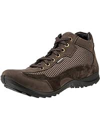 Woodland Men's Dark Brown Leather Boots - 7 UK/India (41 EU)