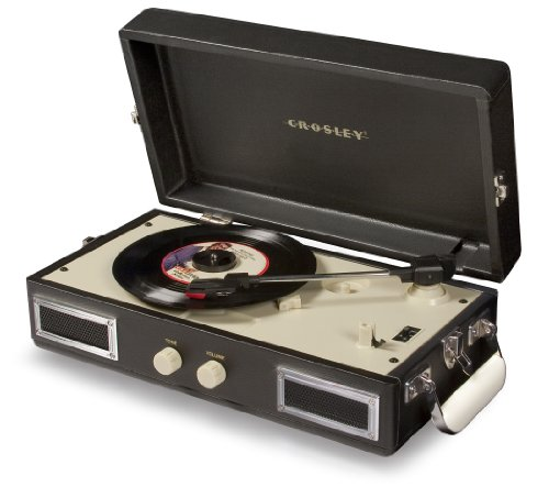 Crosley Mini Turntable (Black)