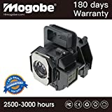 Mogobe 3LCD Projector Replacement Lamp Bulb Module For EPSON H360A H373A H373B H373C H373F H416A