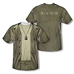 MASH Hawkeye Costume All Over Print Front / Back T-Shirt