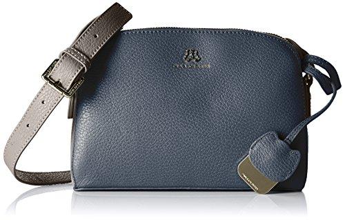 Paul & Joe SisterZipped meesenger bag - Borsa a tracolla Donna , Blu (Blau (030)), 24x17x9 cm (B x H x T)