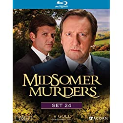Midsomer Murders, Set 24 [Blu-ray]