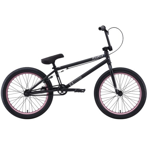 Eastern Bikes Reaper 2013 Edition BMX Bike (Matte Black/Rose Rim, 20-Inch)