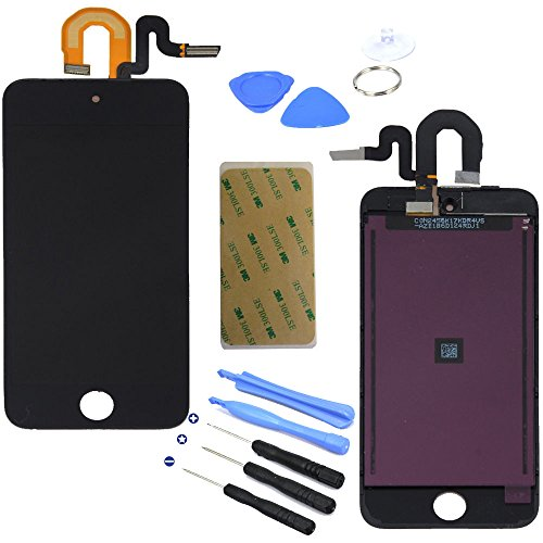 Lcd Display Touch Screen Glass Panel Digitizer Black Assembly Repair Part For Ipod Touch 5Th Generation 5 5G 16Gb 32Gb 64Gb