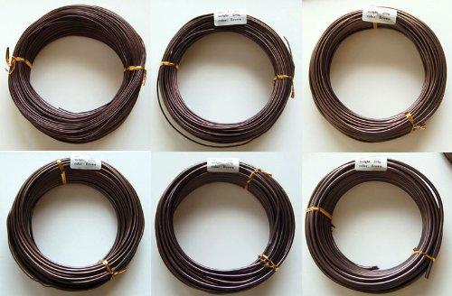 Bonsai Tree Training Wires: 250-gram rolls: 6 size combo