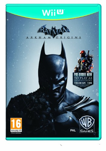 NEW & SEALED! Batman Arkham Origins Nintendo Wii U Game UK