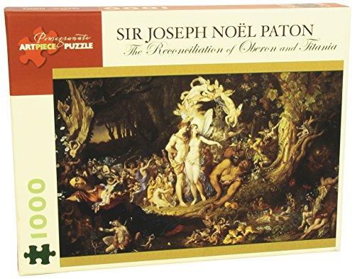 Sir Thomas Noel Patton 1000 Piece Puzzle Reconciliation of Oberon & Titania - 1