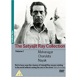 The Satyajit Ray Collection - Vol. 1 3-DVD Set ( The Big City / The Lonely Wife / The Hero ) ( Mahanagar / Charulata / Nayak ) [ NON-USA FORMAT, PAL, Reg.2 Import - United Kingdom ]