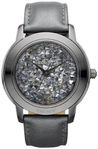 DKNY Glitz Crystallized Dial Women's Watch #NY8436