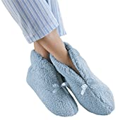 Women's Micro Chenille Bootie Slippers