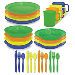 Stansport 4 Person Polyware Picnic Set by StanSport