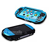 Szjay ® Metal Aluminum Metallic Protection Hard Case Cover for Playstation Ps Vita 1000 (Sky Blue) (Color: Sky Blue)