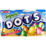 Tropical Dots Candy 7.5 Ounce Theater Size Packs 1 Box