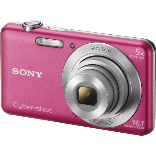 Sony DSC-W710/P 16 MP Digital Camera with 2.7-Inch LCD (Pink)