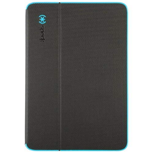 Speck Products DuraFolio Case and Viewing Stand for iPad Mini 1, 2, and 3 (with Retina Display), Slate Grey/Peacock Blue (SPK-A2694)
