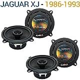 Jaguar XJ 1986-1993 OEM Speaker Replacement Harmony Upgrade (2) R5 Package