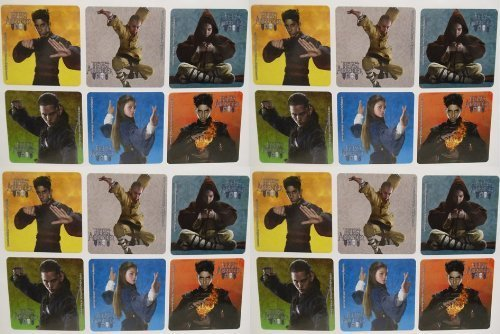 """Avatar - The Last Airbender Birthday Party Favor Set of 45 Stickers - Featuring Different Designs Measuring 2"""" Tall"""