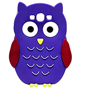Owl Shape Silicone Back Case Cover For Samsung Galaxy S3 I 9300