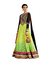 Saree dotcom Women Net Anarkali Suit