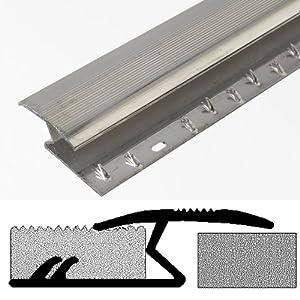 bulk hardware barre de seuil z pour moquette en aluminium. Black Bedroom Furniture Sets. Home Design Ideas