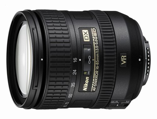 Nikon 16-85mm f/3.5-5.6G AF-S DX ED VR Nikkor Wide-Angle Telephoto Zoom Lens for Nikon DSLR Cameras