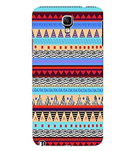 ColourCraft Tribal pattern Design Back Case Cover for SAMSUNG GALAXY NOTE 3 NEO DUOS N7502