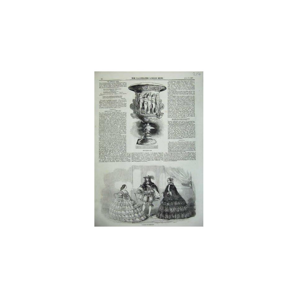 Paris Women Men Fashion 1857 Milton Vase Sculpture