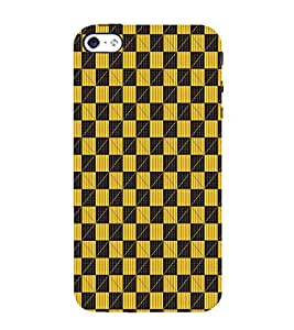 EPICCASE yellow Rubik Mobile Back Case Cover For Apple iPhone 4/4s (Designer Case)