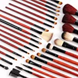 Fraulein38 31pcs Cosmetic Makeup Brush Set with GIRAFFE Case