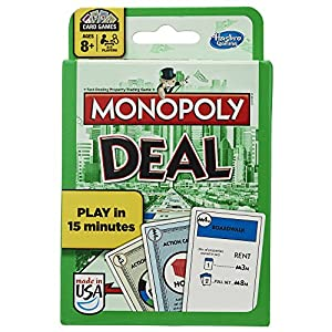 Hasbro Monopoly Deal Card Game from Hasbro Gaming